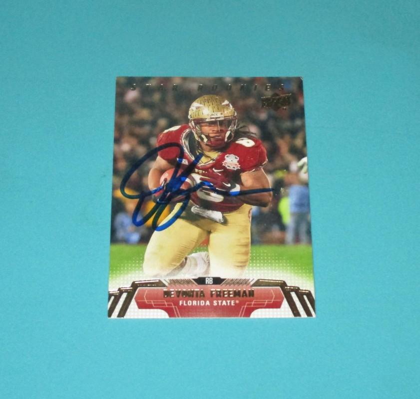 sale retailer 4468f a81bd Atlanta Falcons Cards (Autographed) - Autographs of the Stars